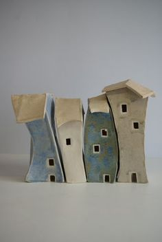 17 Best images about ceramic houses Clay Houses, Ceramic Houses, Miniature Houses, Ceramic Clay, Art Houses, Mini Houses, Pottery Houses, Slab Pottery, Ceramic Pottery