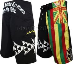 More Hawaiian Island Creations Pupukea Mens Boardshorts