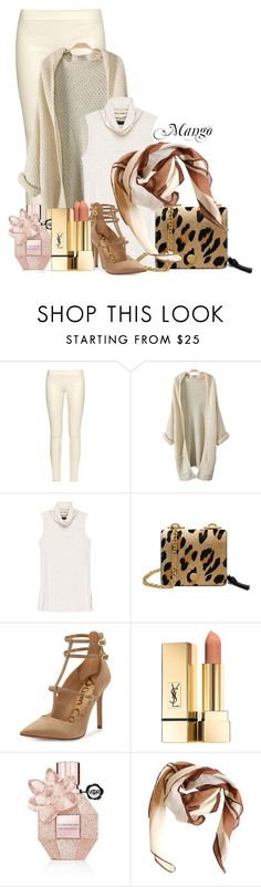 """""""Mango's collection Hijabi"""" by mango27 ❤ liked on Polyvore featuring The Row, Bobeau, Mulberry, Sam Edelman, Viktor & Rolf and HUGO"""