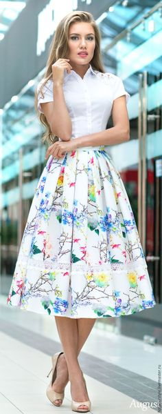 This is a collection of outfits and the styles that I love. Casual Skirt Outfits, Modest Outfits, Classy Outfits, Modest Fashion, Pretty Outfits, Beautiful Outfits, Dress Outfits, Fashion Dresses, Blouse And Skirt