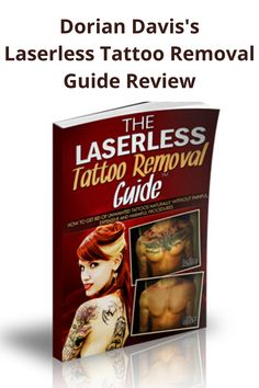Doreen Davis was kind enough to send me a copy of the Laserless Tattoo Removal Guide in exchange for an honest review. I know a lot of people with tattoos who would rather see them faded, covered, or gone altogether so I was eager to see and apply Dorian's teachings. Eyebrow Tattoo Removal, Natural Tattoo Removal, Tattoo Removal Cost, Tattoo Off, Diy Tattoo, Tattoo Pain, New Tattoos, Small Tattoos, Tatoos