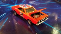General Lee Customized Hotwheels From The Dukes by GeekSizedModels
