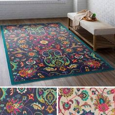 Shop for Julietta Bohemian Festival Area Rug. Get free delivery at Overstock - Your Online Home Decor Store! Get in rewards with Club O! Olive Style, Kids Area Rugs, Transitional Area Rugs, Accent Rugs, Accent Walls, Online Home Decor Stores, Online Shopping, Carpet Runner, Home Decor