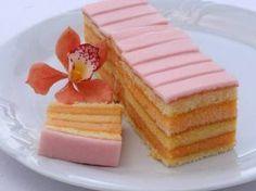 Receptov na výborné punčové rezy nikdy nie je dosť Czech Desserts, No Bake Desserts, Czech Recipes, Sweet Cakes, Fancy Cakes, Sweet And Salty, Something Sweet, Desert Recipes, A Table