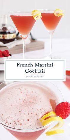 Pineapple Martini Recipes, Best Martini Recipes, Pineapple Juice, Tropical Martini Recipe, Cocktail Recipes, Cocktail Ideas, Cocktail Drinks, French Martini Cocktail, Raspberry Cocktail