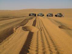 Sandtracks - Libya. picture by Daisy van Groningen.