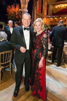 C Social Front. Gordon Getty   S.F. Opera Guild Gala — David Gockley & Dede Wilsey