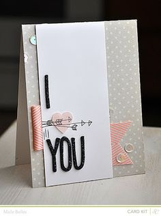 card by Maile Belles