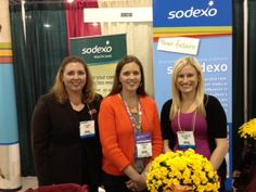Photo of the Week!  #Sodexo is looking forward to meeting you at #FNCE 2013! Meet us at our booth 1339