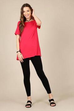 8e7f21f91ef1f Everyday essential tunic - plus size. Short Sleeve Tunic TopsShirts ...
