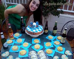 Fiesta oktoberfest del cumpleños de Raquel. Con la cumpleañera!!!!!!!