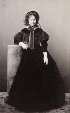 Archduchess Hildergard of Austria, neé Princess of Bavaria. 1850s. Daughter of King Louis of Bavaria