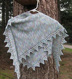 Free Knitting Pattern - Women's Shrugs, Wraps & Capes: Pimpelliese Shawl