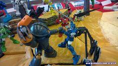 """HGUC, le RGM-79 GM, projet « GM Sentai » Modèles réalisés par ZenkuroProjet """"GM Sentai"""""""