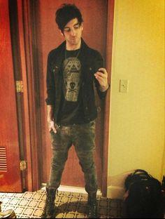 Alex Gaskarth.  All Time Low.