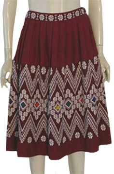Hippie Ethnic Guatemalan Skirt