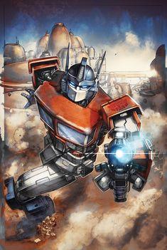 Transformers RID #19 cover colors by khaamar.deviantart.com on @deviantART
