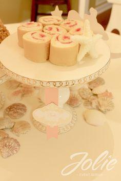 strawberry shortcake rolls or even swiss rolls. Dessert sushi.