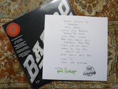 COOL signed Bad Company 2-Lp set from BARNES  NOBLE.  Bad Company.  Signed by Paul Rodgers in GREEN ink 734/2000.  Still tight in shrink only opened to take out autograph.  Please see scan. FREE shipping with tracking in the US.  NO international shipping. We do combine shipping on multiple