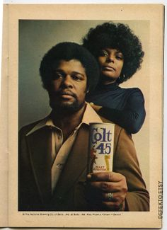 Brilliant ad in early 70s Jet. DefektoEtsy.