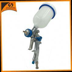 49.99$  Buy here - http://ali3mv.worldwells.pw/go.php?t=32727847580 - SAT1215 gravity feeding spray gun hvlp airbrush painting air spray paint gun for cars action dual action airbrush air sprayer