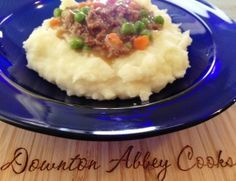 Mince and Tatties ~ Downton Downtime Comfort Food ~ Mince and tatties is a popular Scottish dish, consisting of minced beef and mashed potato. It sometimes contains other vegetables or thickening agents.