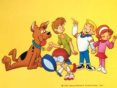 Loved Pup Named Scooby Doo Cartoon.... Growing Up....