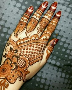 henna -A passionat Palm Mehendi e belief in your business and personal objectives can make all the difference between success and failure. Latest Arabic Mehndi Designs, Rose Mehndi Designs, Henna Art Designs, Modern Mehndi Designs, Mehndi Design Pictures, Mehndi Designs For Girls, Wedding Mehndi Designs, Mehndi Designs For Fingers, Dulhan Mehndi Designs