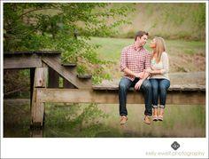 Natural light engagement portraits on a farm in Lovettsville VA