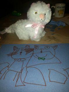 Cat portrait  by Dotty November 2013