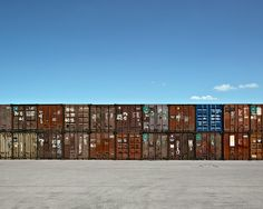 Shipping Containers by Bernhard Lang