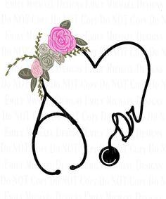 Stethoscope Drawing, Doctors Stethoscope, Doctor Drawing, Medical Wallpaper, Nurse Art, Cross Art, Medical Art, Arte Floral, Cute Cartoon Wallpapers