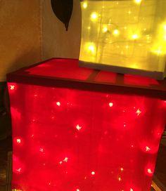 Wood frame diy lighted christmas present diy outdoor christmas wood frame diy lighted christmas present diy outdoor christmas decorations diy light and outdoor christmas aloadofball Gallery
