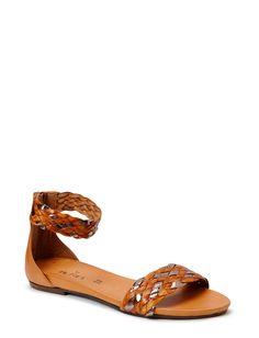 By Burin elin braided flat sandal