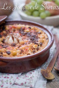 riz au four espagnol Pasta, Orzo, Couscous, Flan, Quick Meals, Cheeseburger Chowder, Soup, Vegetables, Cooking