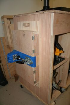 Kreg Pocket Hole Jig Work Support - by GeekyDad79 @ LumberJocks.com ~ woodworking community