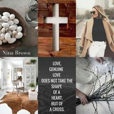 Love, in the shape of a cross Beautiful Collage, Beautiful Words, Christian Facebook Cover, Fashion Souls, Inspirational Prayers, Inspiring Quotes, Genuine Love, Images And Words, Pretty Quotes