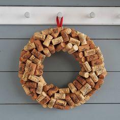 Coronas DIY para esta Navidad