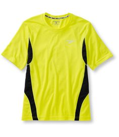 Brooks Versatile Short-Sleeve Tee: High Visibility Clothing | Free Shipping at L.L.Bean