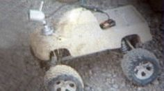 cool RC car hack saves lives in war zone...R.I.P sand-colored radio-controlled truck....  Ka-BOOM!!!!!
