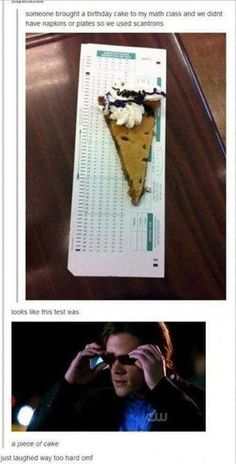 Funny pictures about Looks like this test was. Oh, and cool pics about Looks like this test was. Also, Looks like this test was. My Tumblr, Tumblr Funny, Haha, Academia Hero, Funny Quotes, Funny Memes, Sam Winchester, Winchester Brothers, Have A Laugh