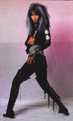 Blackie Lawless, the King of Shock Metal, or Shock Rock, whatever the hell you want to call it. The mystery of him and Lucy Lawless remains unsolved for me. Cool Tee Shirts, Cool Tees, The Heavy Band, Goth Music, 80s Music, 80s Hair Metal, Heavy Metal Rock, Glam Metal, Def Leppard