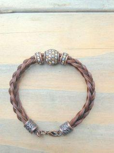 Braided Horsehair Bracelet with