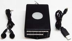 Super Receptor e Gravador Digital Para Seu Telefone Celular ou Escutas de Longo Alcance
