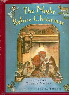 OMG! Tasha Tudor Night Before Christmas 1975 Book