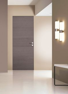 Gris ceniza y filo muro para habithame by San Rafael Door and home.