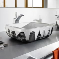 Roca - Urban London Countertop Basin - 400 x - White - at Victorian Plumbing UK