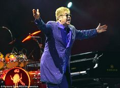 Cancelled: However, the Kremlin has since revealed that a scheduling conflict meant the meeting, that was reportedly planned to take place on Monday when Elton performs in Moscow, will no longer go ahead