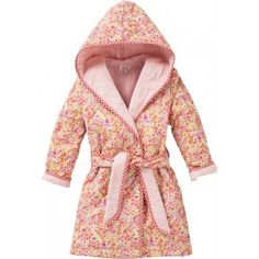 Robe badjas 5504 02 mille fleur/pink check