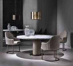MODERN DECOR | New Contemporary Decor | bocadolobo.com/ #diningroomdecorideas #moderndiningrooms